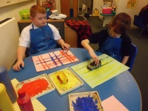 Oban Learning Centre sensory exploration 2
