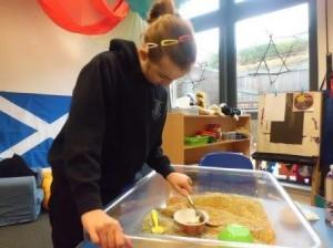 Oban Learning Centre sensory exploration 8