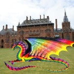 St Andrew's dragon at mountstuart