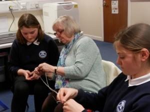 Sandbank Crofting Connections knit 6