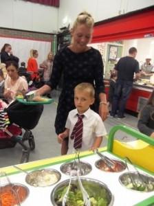 St Joes P1 Parents Lunch 2