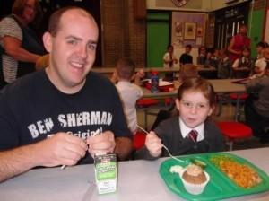 St Joes P1 Parents Lunch 3
