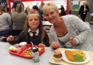 St Joes P1 Parents Lunch 4