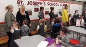 St Joes P1 Parents Lunch 5