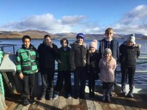 Clachan and Skipness sams visit