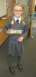 Rothesay World Book Day Lucy