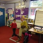 Strone Childrens author visit 1