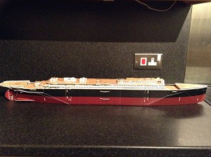 I started work on my Titanic model........I have it half built.