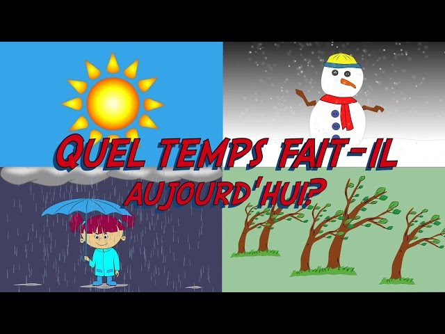 French Weather with P3/4