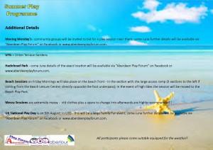 Summer Hols 2015 Advert - locations side 2