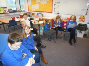 Here we are writing our first blog post!
