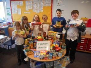 GMU Food bank donations