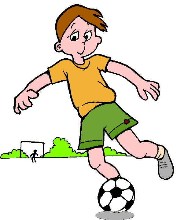 Children Playing Football Clipart Woodlands Primary School
