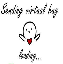 Sending a virtual hug