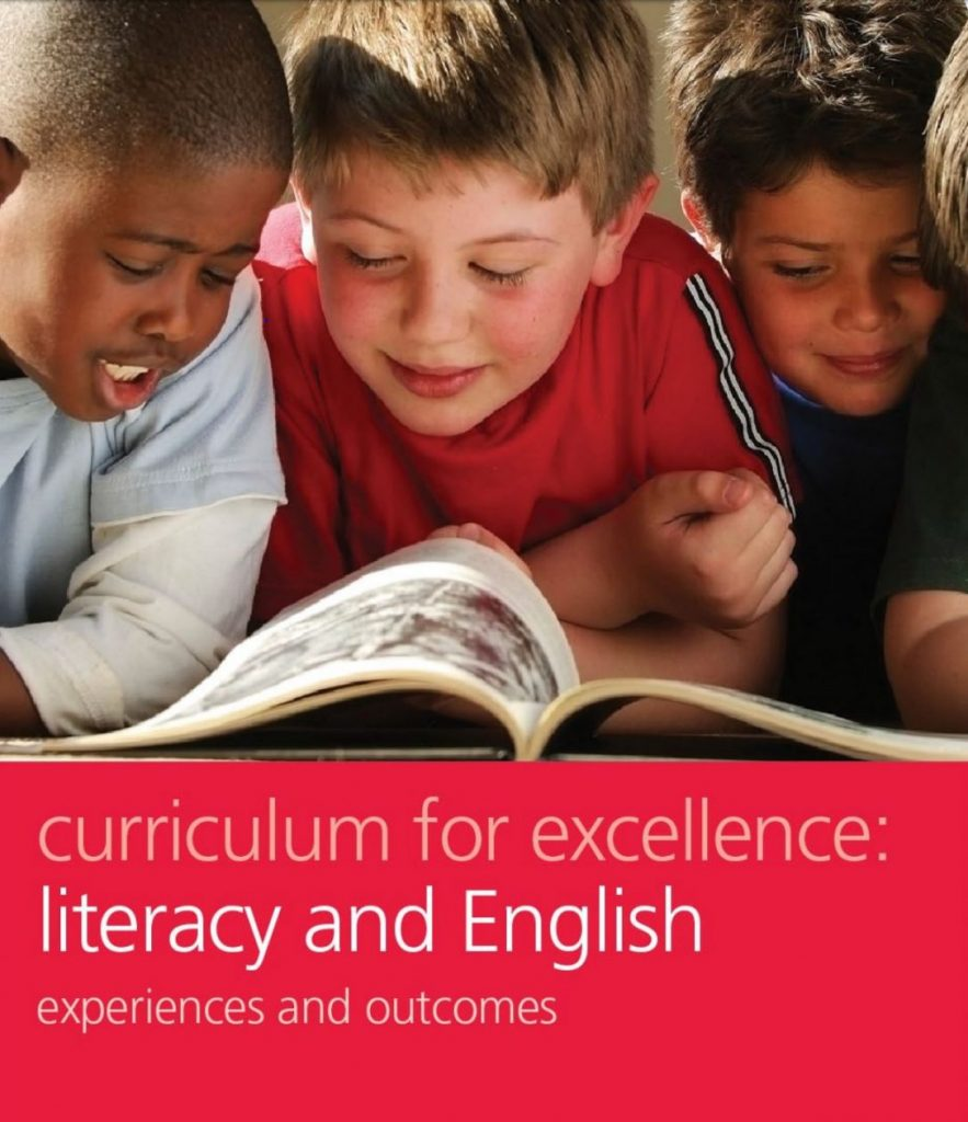 Curriculum for Excellence, LIteracy and English Documentation