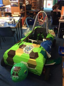 Tangled Turtle | Kellands School Greenpower Goblin Kit Car