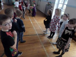 All of the children looked fabulous in their party clothes!