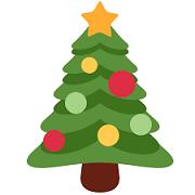Image of a Christmas tree