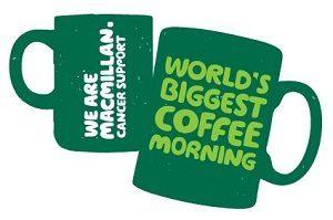 Image advertising McMillan Coffee Mornings