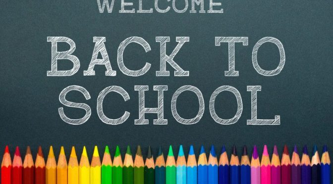 Back to School – Wednesday 18th August, 2021.