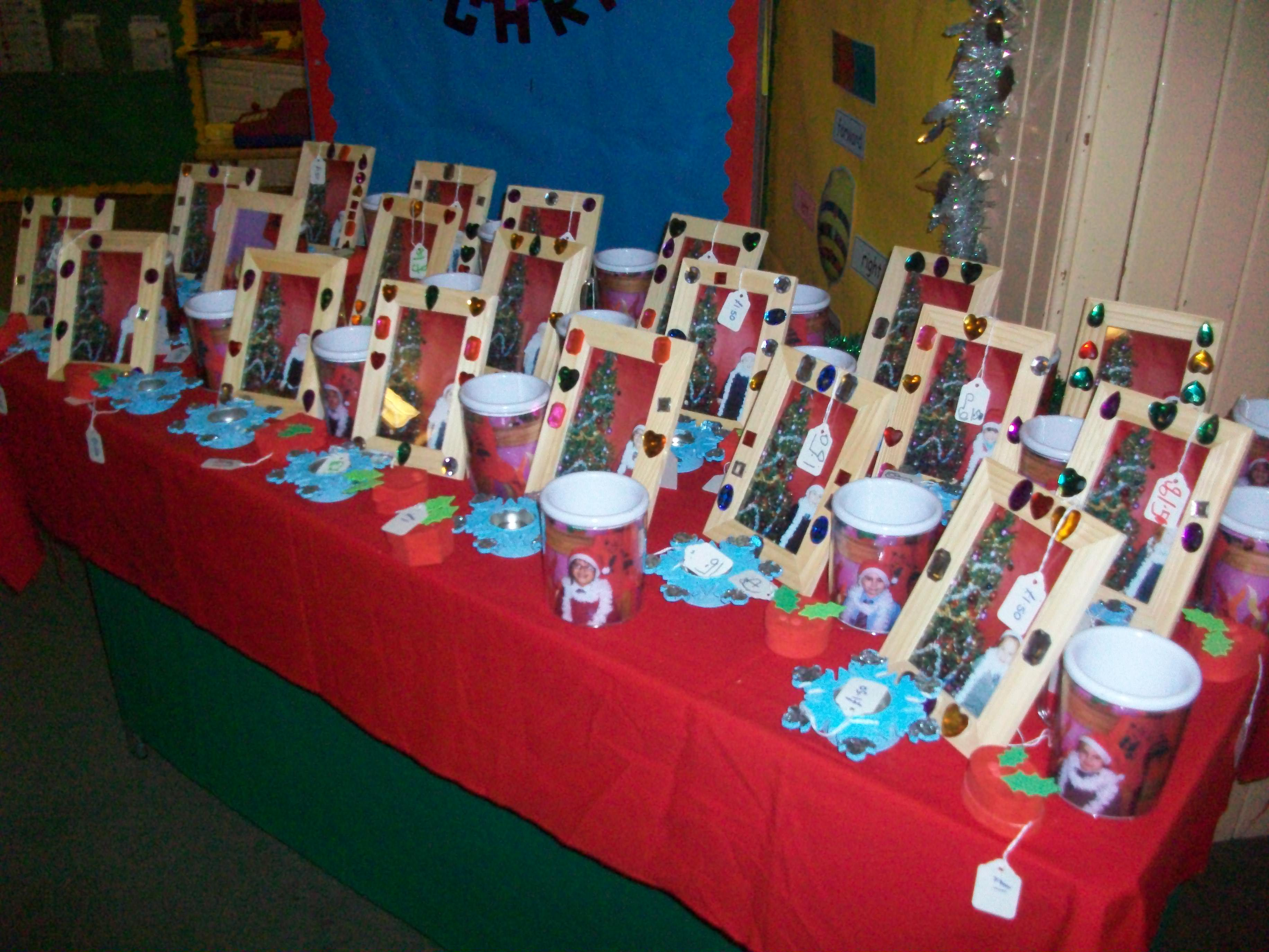Christmas Fayre Dens Road Primary One