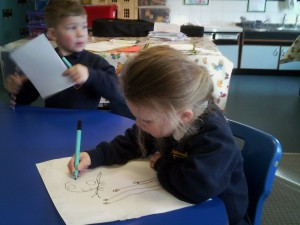 Practising writing
