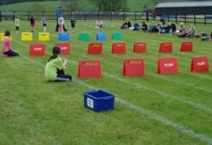 Sports day Hurdles