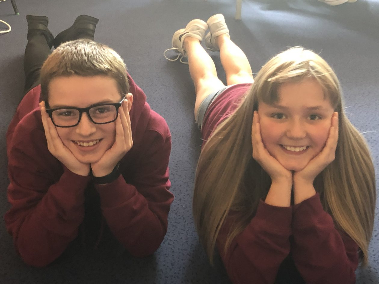 Recreating the famously cute P1 photo!