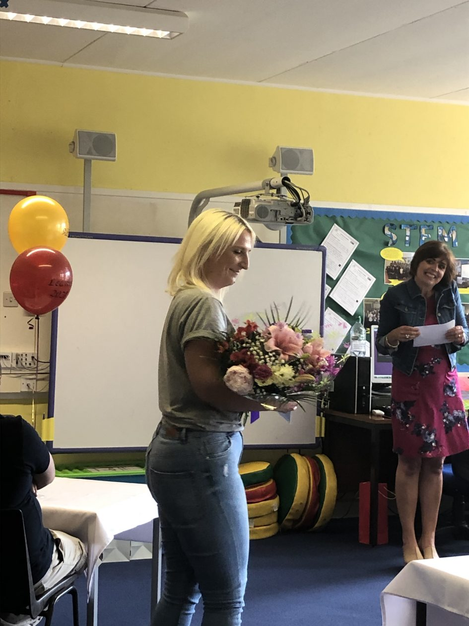 Goodbye Mrs Blain! Thank you for helping us when we needed you most. You will be missed!