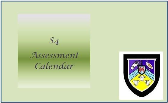 Assessment Calendar S4