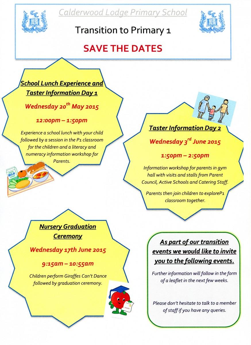 Nursery Dates