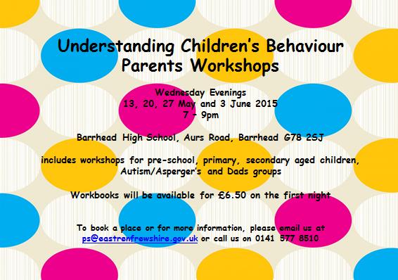 Behaviour workshops