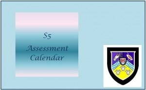 Assessment Calendar S5