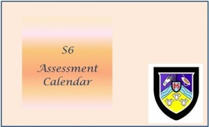 Assessment Calendar S6
