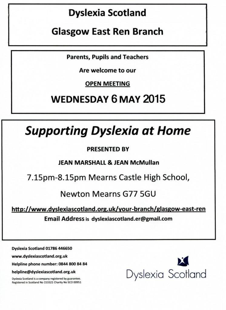 Dyslexia Flyer
