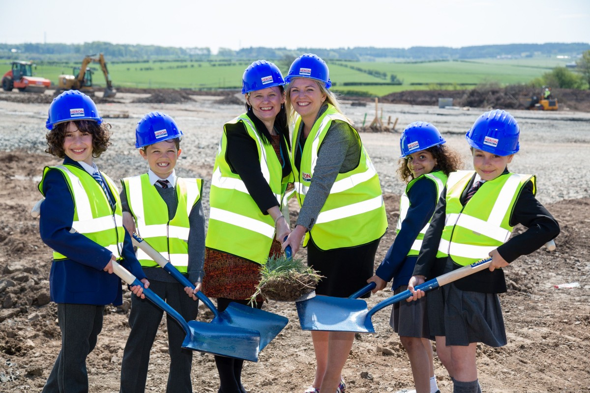Joint faith schools campus turf cutting jpg.3