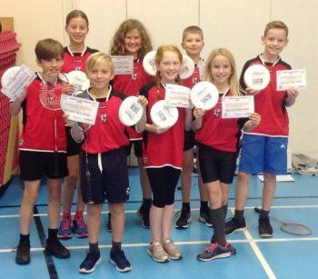 Giffnock Primary Badminton Team