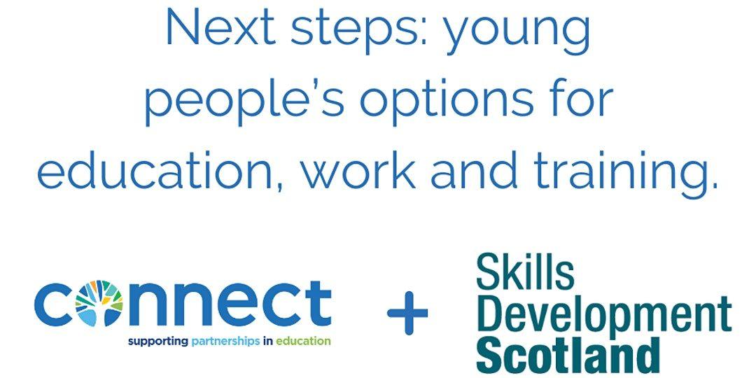 Connect + Skills Development Scotland Next Steps