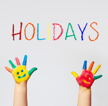 School Holiday Information 2019/2020 | Cart Mill Family Centre