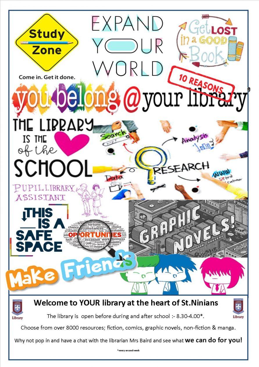 School Library St Ninian S High School S2 Website