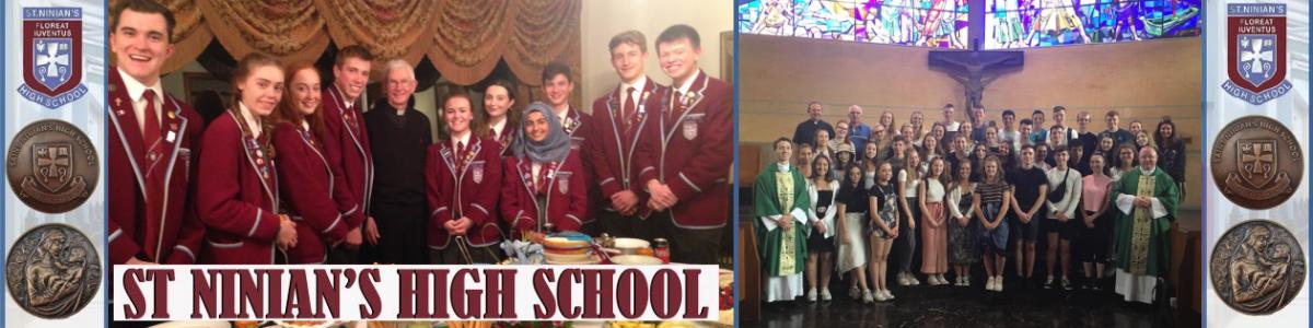 Saint Ninian's High School Sixth Year 2018-19