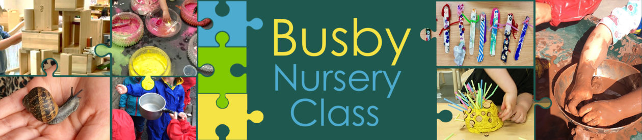 Busby Nursery Class Blog
