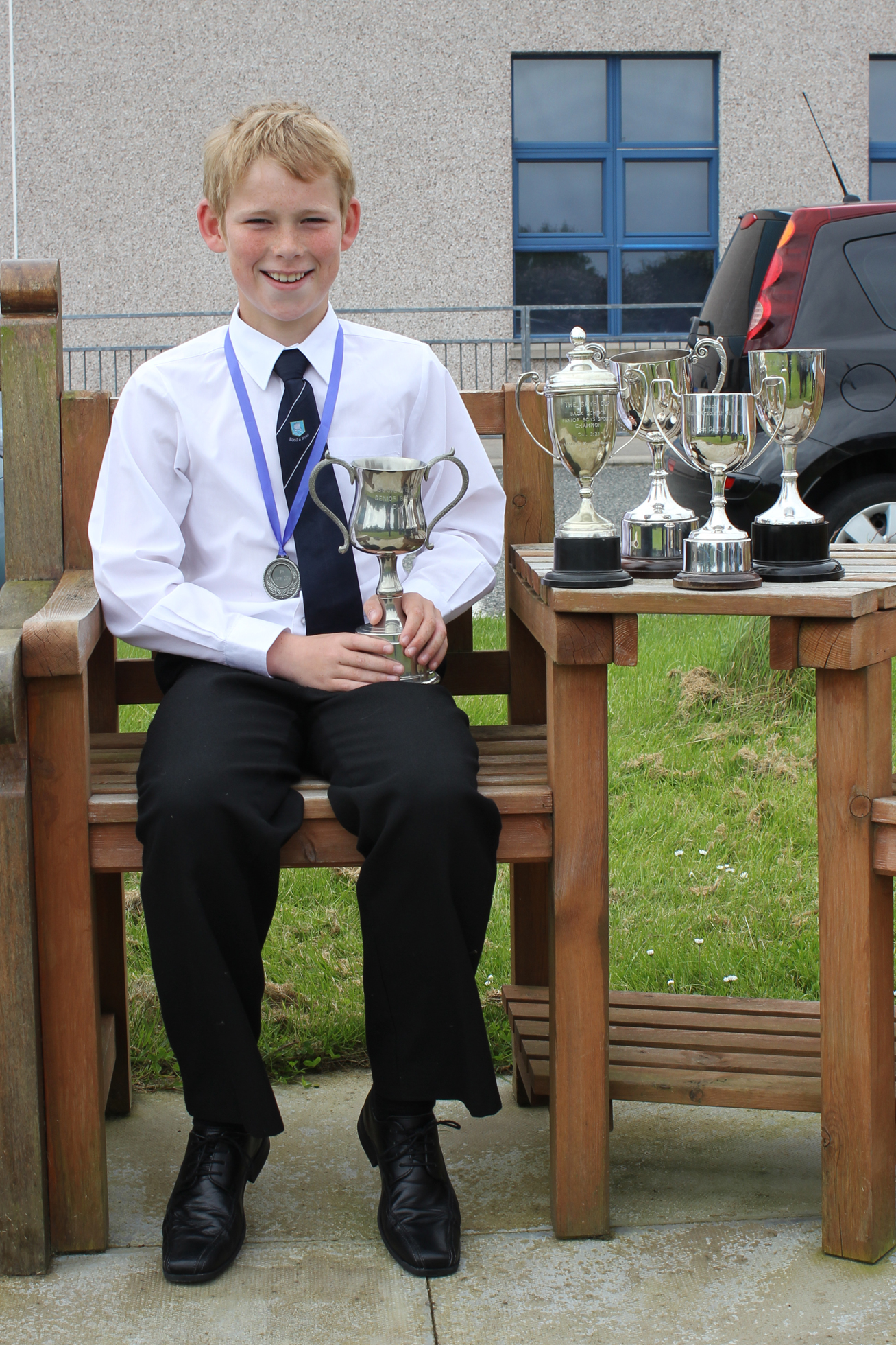 Calum Maclennan - Dux of the School for 2014