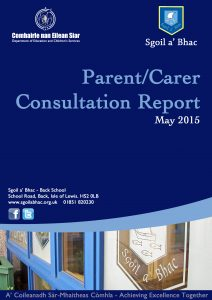 Back Parent Survey May 15