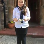 Carra Graham was 1st in the Recitation age 11-12 Fluent competition.