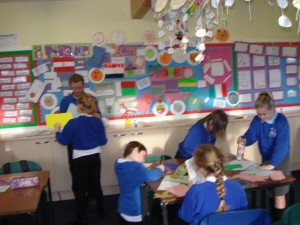 Creating fliers, posters and letter writing
