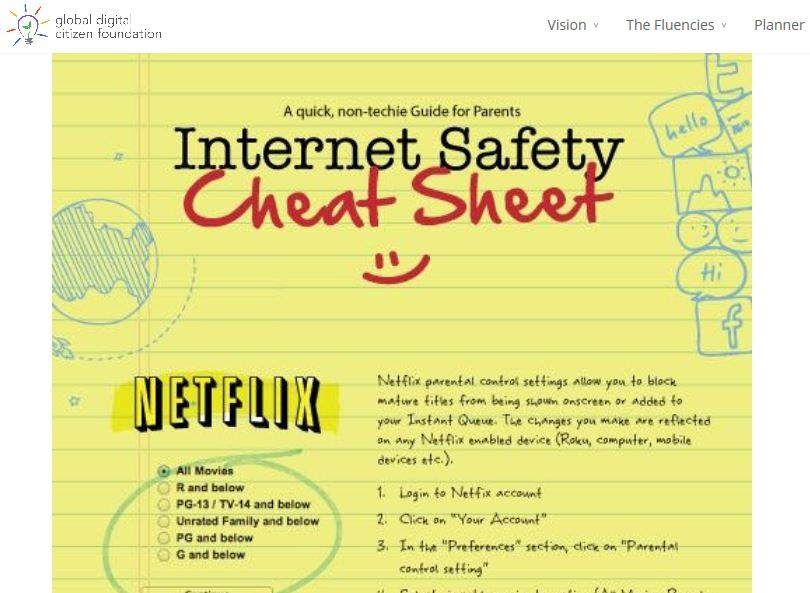InternetSafetyCheatSheet