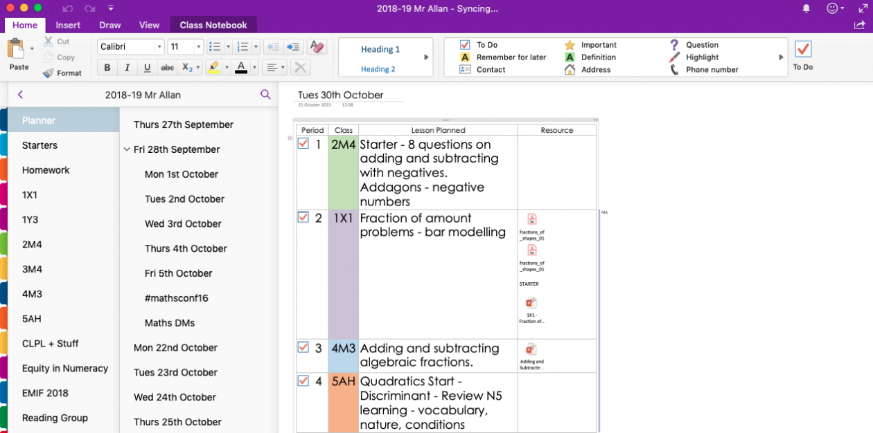 OneNote to Rule them All |