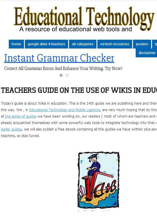 TeacherGuideWikis