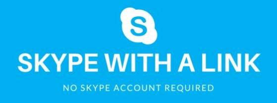 Skypewitha link only